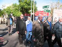 Desfile del centro con el Almirante Busser