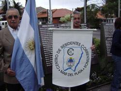 Integrantes del Centro de Residentes Correntinos en Mar del Plata